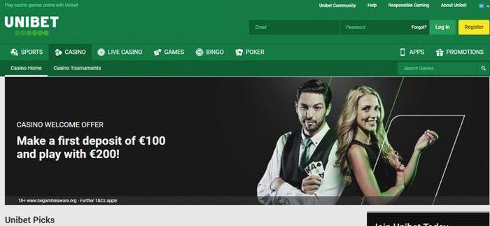 Unibet Casino Android App