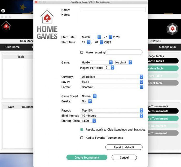 Mainkan Turnamen Poker Online dengan teman-teman