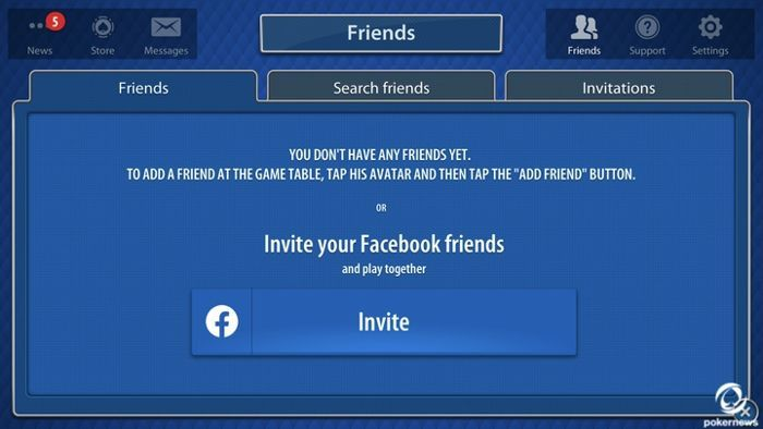 Here's how you invite your friends to play Blackjack on Blackjackist