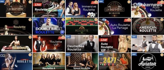 PlayAmo casino live dealer roulette