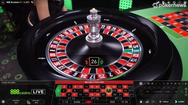 Live-Dealer-Roulette-Gewinnzahl
