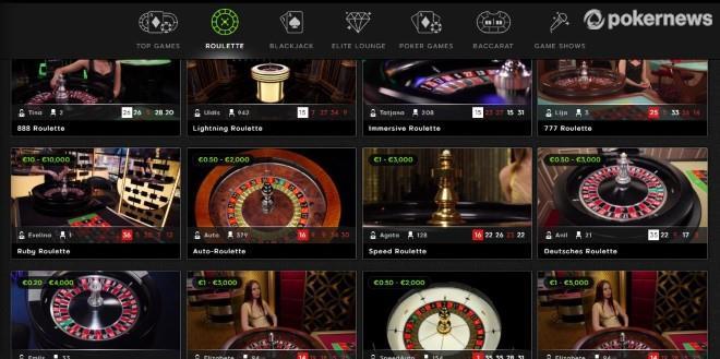 Arten von Live-Dealer-Roulette-Spielen
