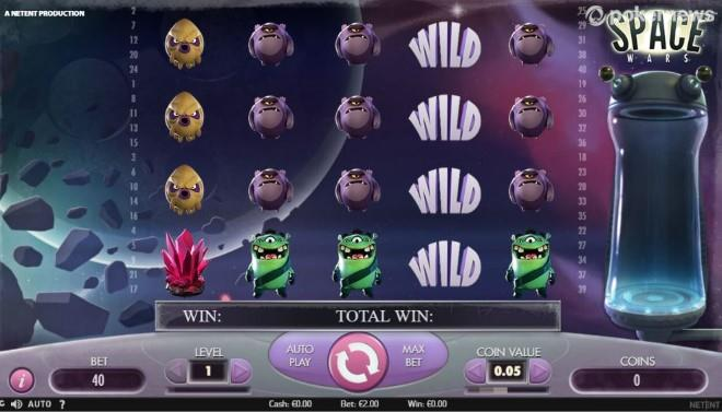 Slot to Try with Bigger Bets: Space Wars