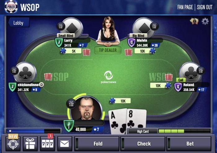 Practice Poker Online