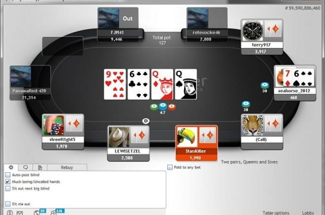 free texas holdem practice games on partypoker