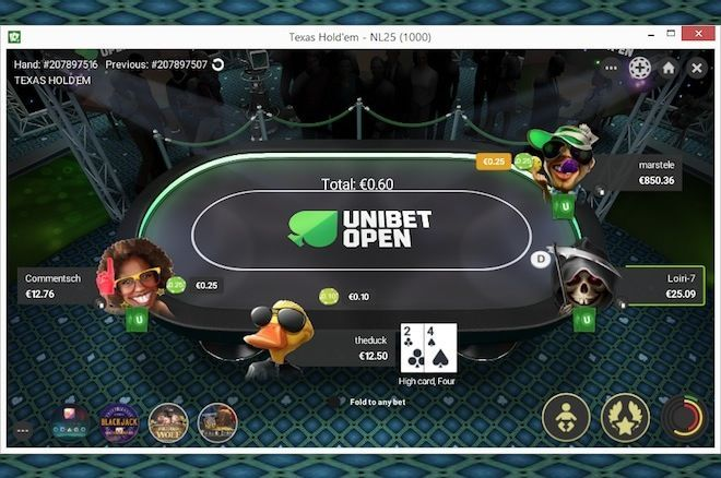 Unibet Poker is a great site to learn how to play poker and practice online