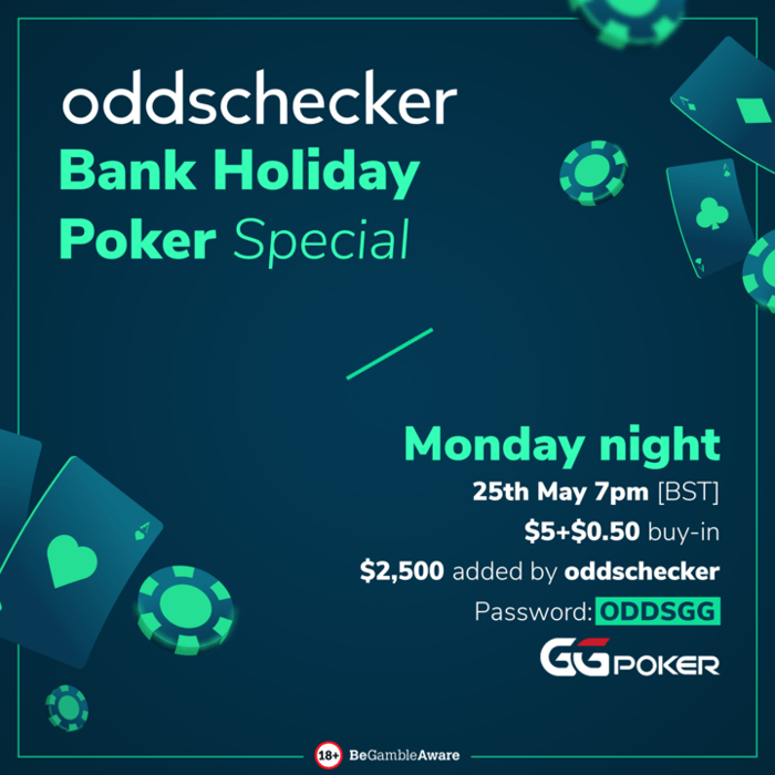 Bank Holiday Poker Special