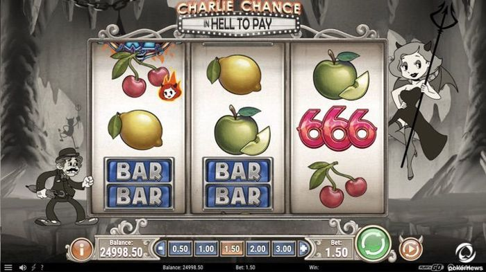 2020 Game slot online baru untuk uang sungguhan Charlie Chance in Hell to Pay
