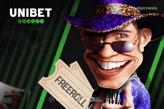 Play poker games for real money with no deposit required on Unibet