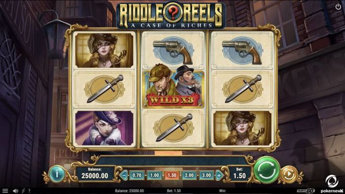 Riddle Reels is one of the best casino games by playngo in 2020