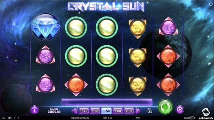 Crystal Sun Slot Machine Online