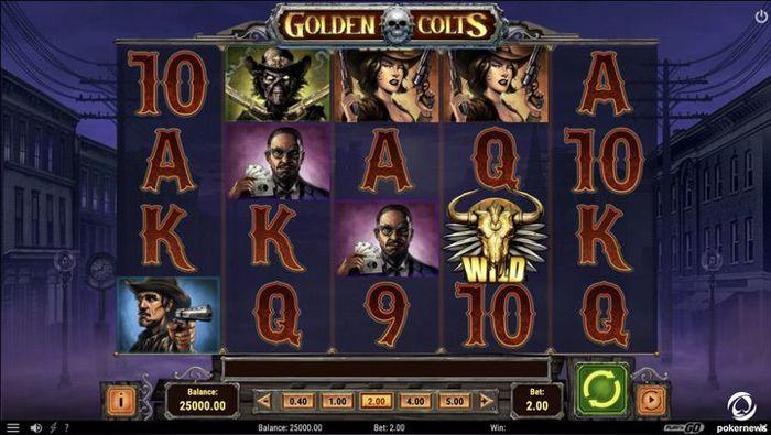 Golden Colts Video Slot