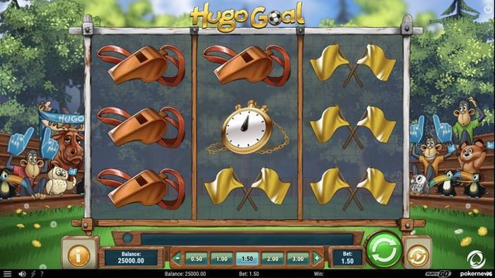 Hugo Goal is another great Slot game by Play'n Go