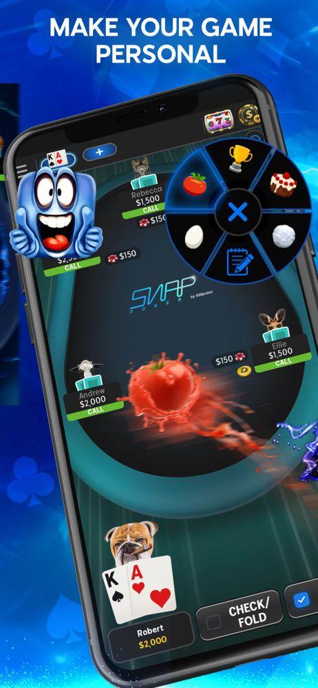 888poker online mobile app throwables