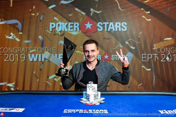 Mikalai Pobal wins the 2019 EPT Prague Main Event