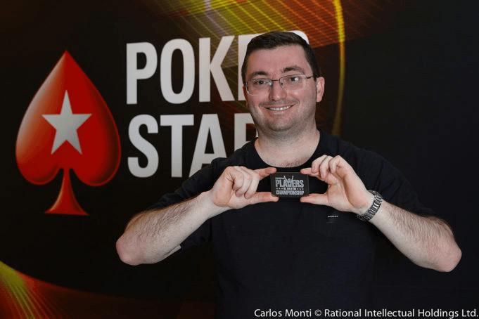 Tiket Platinum Fábio Bonatto PokerStars Platinum