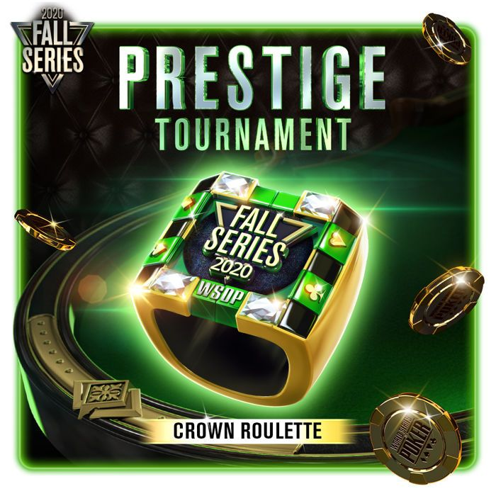 WSOP app Prestige Ring Fall Series 2020
