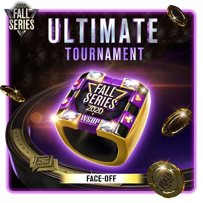 2020 Fall Series WSOP App Ultimate Face Off Ring