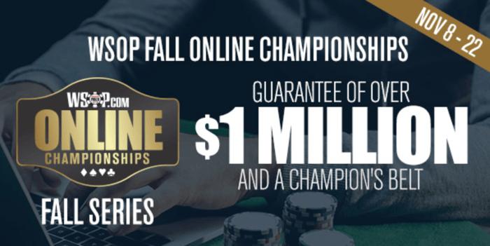 Kejuaraan Online Musim Gugur WSOP
