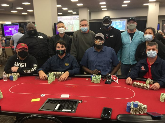 Event #1 final table.