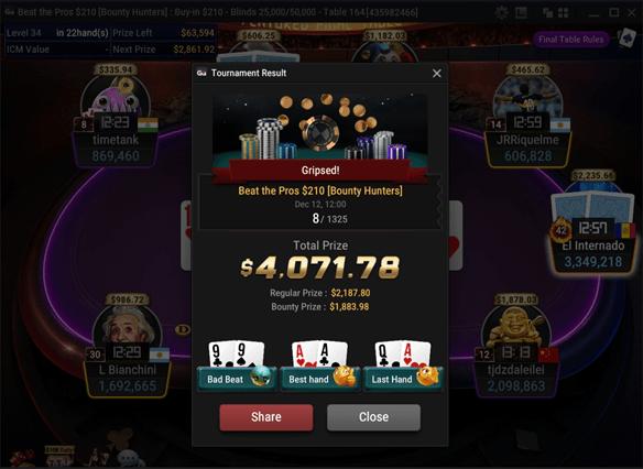 Jarvis Gripsed Poker