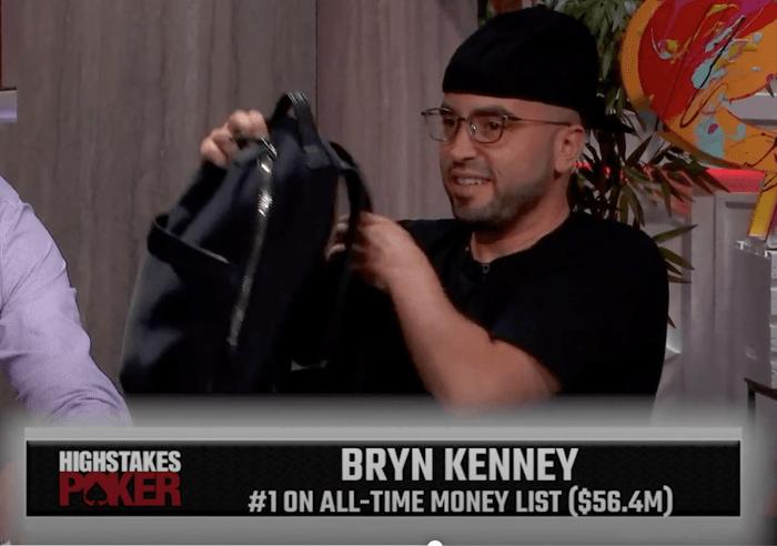 Bryn Kenney mengambil tempat di High Stakes Poker.