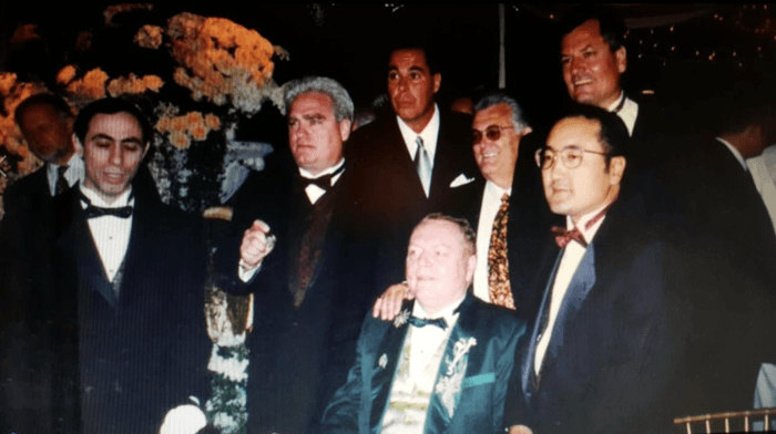 Larry Flynt wedding