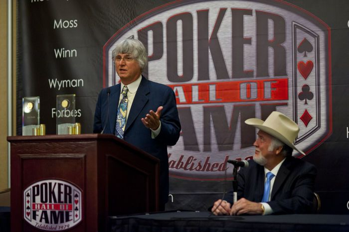 2012 Poker hall of Fame Inductee Eric Drache