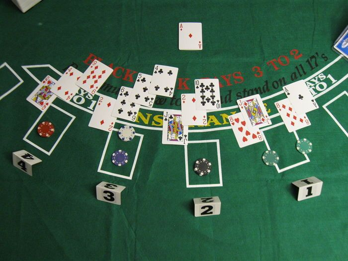 Blackjack Layout