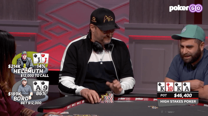 Phil Hellmuth and James Bord