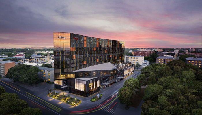 The Olympic Park Casino at the Hilton Tallinn