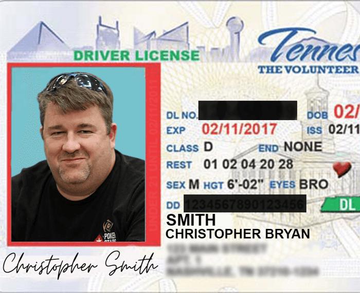 Chris Moneymaker's Real ID