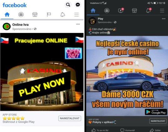 Iklan seluler palsu King's Casino