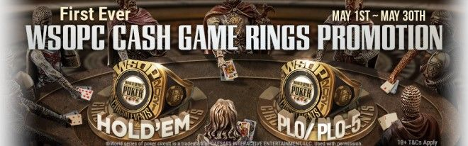2021 WSOP Super Circuit Online Series Cash Game Rings