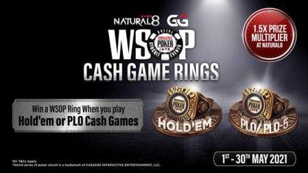WSOPC 1.5X Cash Game Prize Multiplier