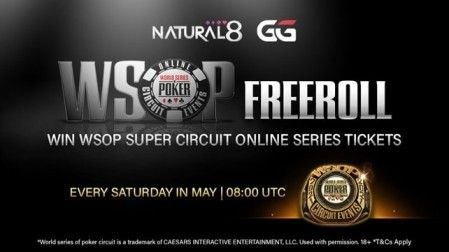 Natural8 WSOP Freeroll
