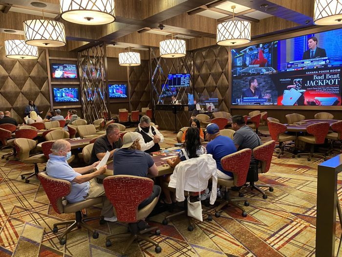 Sahara Poker Room
