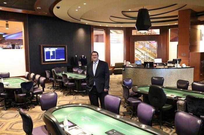 Rivers Philadelphia Poker Room Manager Jim Moore