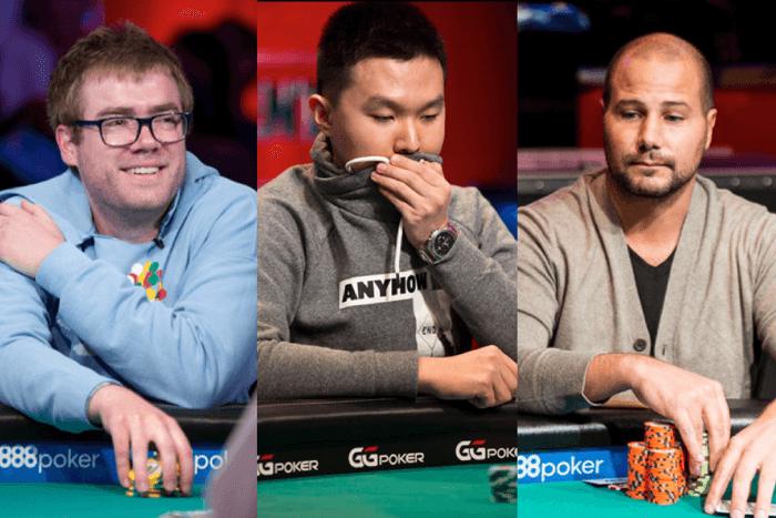 Tiga mantan finalis Acara Utama WSOP lainnya masuk ke meja final.