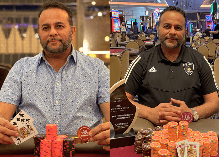 Mark Seif claimed back-to-back Venetian titles.