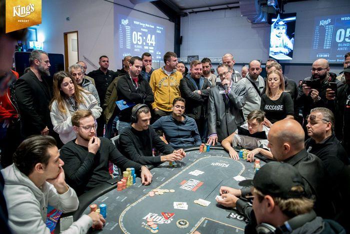 Nicolas Sievers Bubbles the 2019 WSOPE Main Event