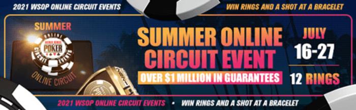Sirkuit Online Musim Panas WSOP.com
