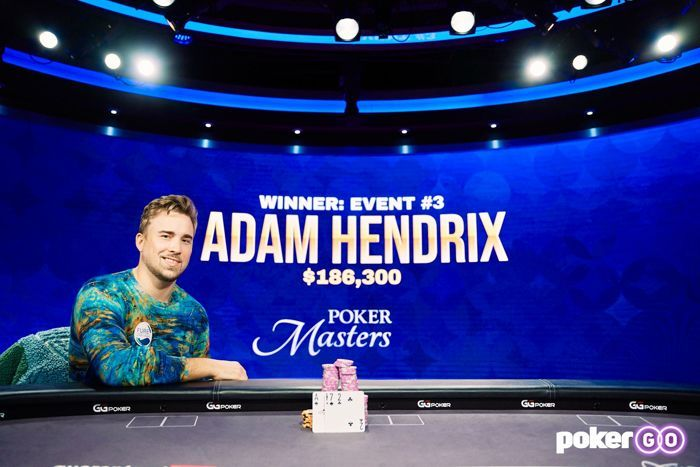 master poker adam hendrix