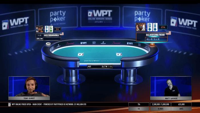 WPT Borgata Online Poker Terbuka