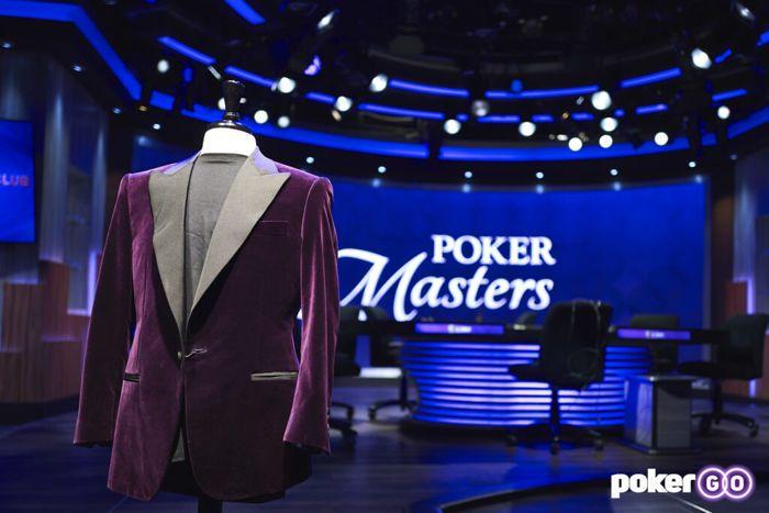 Jaket ungu Poker Masters