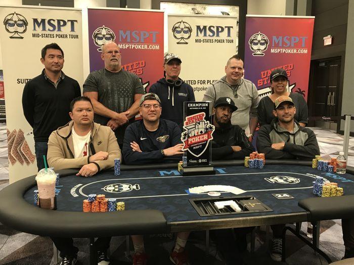 Tabel Final Kejuaraan Poker Amerika Serikat MSPT