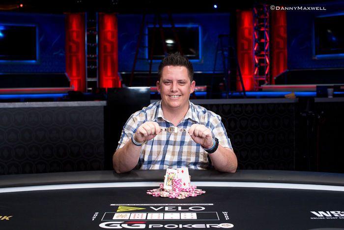 James Barnett - Acara #1: Pemenang Hold'em Tanpa Batas Karyawan Kasino $500