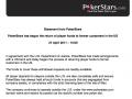 PokerStars Liberta o Dinheiro dos Jogadores 101