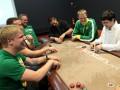 Lietuvos rinktinės krepšininkai mėgavosi sportiniu pokeriu 106