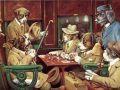 Известната картина с кучета играещи покер се... 104